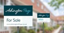 Case Study | Ashington Page Rebrand / A rebrand project for established #EstateAgent and long term customer, Ashington Page. #CrucialProjects.