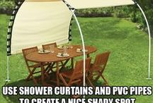 Backyard - Outside Spaces & Ideas / This board is about put together spaces - designs, furniture, and decorations. / by Barbara Miller