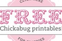 Free Printables...ooo..ah