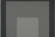 Josef Albers-Homage to the Square   / Homages to the Square by Josef Albers-A collection of Homages to the Square with Gray (and some other favorites)