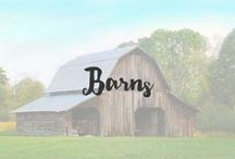 Barns / Barns hold a dear place in my heart. They embrace the style of the good ole days and allow stories of the past to shine. With their beautiful wood walls and vintage design, they will always and forever play an important role in history.