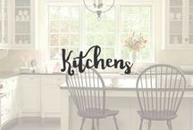 Kitchens / The kitchen is a main area of the home. It should be clean, organized and cozy. Gathering with family and friends in a well designed kitchen that is comfortable is a great feeling.