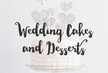 Wedding Cakes & Desserts / Get creative and think out of the box. You can do so much with dessert so have fun with it.