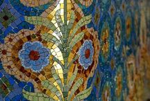 Mosaic and Stained Glass / by Sarah Weaver