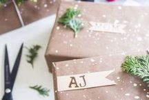 Winter Holiday Wrapping & Packaging / Nothing is more special than a handmade gift. How you package it is important too! Check out some of our favorite Holiday DIY ideas and gift wrapping how-to's of the season