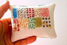 Embroidery & Stitching Inspiration / Ideas and tutorials for embroidery, cross stitch and other handmade needle-crafts.