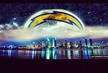 San Diego Chargers / Football and shtuff / by Lola Loomis
