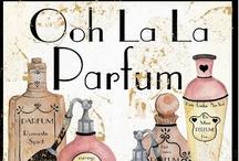 Parfumerie.. / Perfume bottles, advertisements, and brands..  / by Cheryl Marsh-Elliott