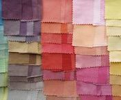 Fabric Love / Sometimes the fabric inspires the project. Here are some of our favorite cottons, linens, weaves, and more. Now, where are the scissors?