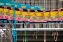 Weaving / Warp. Weft. Woven goodness.