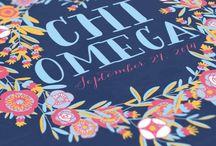 • chi omega • / by Logan Hamrick