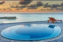 To infinity (pools) & beyond! / A collection of exotic pools from around the world.