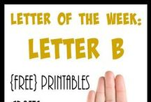 Homeschool: Letter Bb / Everything you need to teach the Letter B