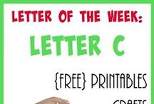 Homeschool: Letter Cc / Everything you need to teach the Letter C