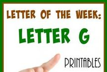 Letter of the Week: Gg / Everything you need to know and have to make teaching the letter Gg FUN!!