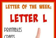 """Homeschool: Letter Ll / Ideas and resources to help you teach the letter """"L"""" to your preschooler!"""