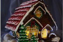 CHRISTmas - Gingerbread Houses / by Josie Munro