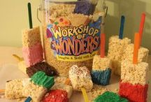 Workshop of Wonders Snacks & Crafts / Craft and Snack ideas for Cokesbury's VBS 2014! / by Cokesbury VBS