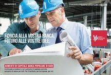 Banca Popolare di Bari / Reparto Creativo Lojacono & Tempesta/Cliente: Banca Popolare di Bari.
