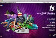New York Yankees Shoes / Reparto Creativo Lojacono & Tempesta/Cliente: New York Yankees Shoes