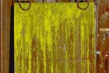 Reclaimed Barn Doors / Some of our reclaimed barn doors of every shape, size, color, and quality.