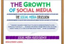 Social Media / Social media infographics, insights and tips