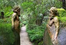 sculpture au jardin