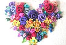 crochet,flores / by maria bellani