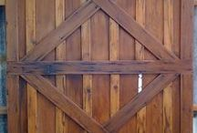 Custom Fabricated Barn Doors / Our custom fabricated barn doors are made from reclaimed materials in the style and character you desire