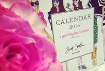2015 Sweet Caroline Designs Calendar / www.sweetcarolinedesigns.com