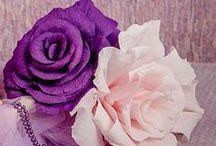 Paper flowers / flori din hartie