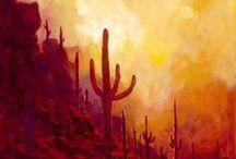peinture: ouest américain