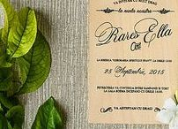 Wood wedding invitation / real wood wedding invitations wooden wedding invites