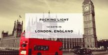 London packing checklists / Everything about my next London trip! <3