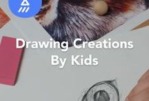 Drawing Creations by Kids / Drawing creations that bring animals, nature, faces & more to life; made by kids on JAM.