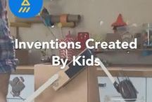 Inventions Created by Kids / DIY inventions created by kids on JAM.