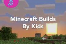 Minecraft Builds by Kids / Minecraft builds by kids on JAM.