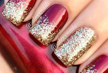 Christmas Nails / Christmas nails  - subscribe to my YouTube Channel ( Pernille Nyberg )