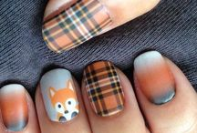 Fall Nails / Fall Nails!  - subscribe to my YouTube Channel ( Pernille Nyberg )