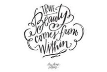 Text and Quotes / Inspiring quotes & favorite fonts. / by Julie Campbell