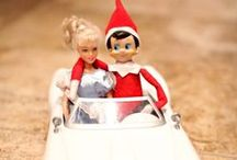Elf On The Shelf Ideas / Ideas for our Elf during Christmas. / by Julie Campbell