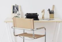Organise Your Office / Tidy and clear your work-space from clutter - an organised desk, leads to an organised mind.