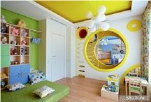 Kids Bedroom Ideas / Great ideas to create more space in your children's bedroom.
