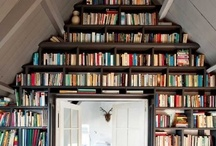 "Beautiful Bookshelves / Books are so much more than just ""information"" / by Lesley Peterson"