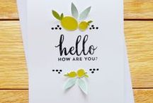Card Inspiration / Handmade cards that inspire me. / by Julie Campbell