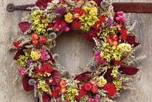 wreaths / gifts / by Amy Smith