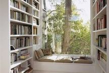 Home Library Inspiration / Inspired ideas to organise your library and incorporate the library into your living space.