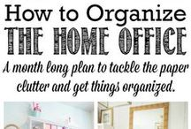 Organising Project Ideas & Links- Room/Space Specific / by Sort Your Stuff