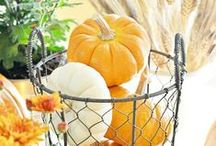 Thanksgiving Table Settings / by Good Housekeeping