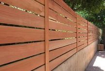 Good Fences / Facades for yards.  Keep the pets in and the neighbors.
